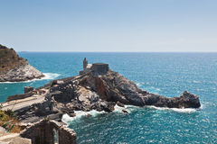 Church of San Pietro at Portovenere, Italy Stock Image