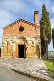 Church of San Pietro in San Giovanni d`Asso, tuscany, italy Stock Photo
