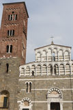 The Church of San Pietro Somaldi in Lucca, Italy Stock Images