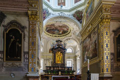 Church San Rocco, Lugano Royalty Free Stock Photo
