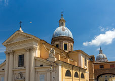 Church San Rocco in Rome, Italy Royalty Free Stock Photos