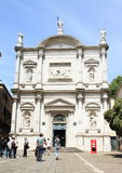 Church San Rocco in Venice Stock Photography