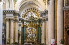 Church San Salvatore in Lauro, Rome Royalty Free Stock Image