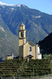 Church of San Sebastian Artore at Bellinzona Stock Photography