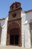 The church in San Sebastian de la Gomera, Canary Islands Royalty Free Stock Photos