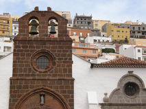 Church in San Sebastian de La Gomera Royalty Free Stock Photography