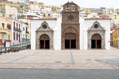 Church in San Sebastian, Gomera island, Spain Royalty Free Stock Photography
