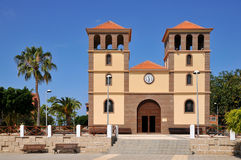 Church San Sebastian at Tenerife Stock Photo