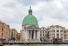 Church San Simeone Piccolo in Venice, Italy Royalty Free Stock Image