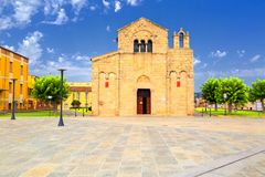Church of San Simplicio in Olbia Royalty Free Stock Photography