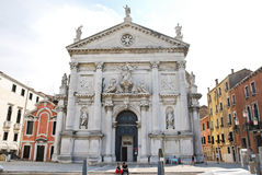 Church of San Stae in Venice, Italy Stock Photography