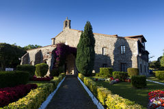 Church of San Vicente de la Barquera, Cantabria Stock Photos