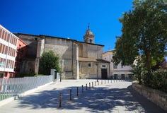 Church of San Vicente Martir in Vitoria - Gasteiz Royalty Free Stock Images