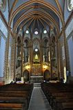 Church sanctuary of mercy Stock Images