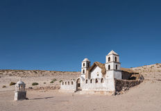 Church in sand Royalty Free Stock Images