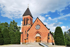 A church in Sandsborg, Sweden Stock Image