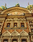 Church in Sankt+Peterburg Royalty Free Stock Photography