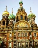 Church in Sankt+Peterburg Royalty Free Stock Image