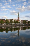 The Church of Sankt Petri Royalty Free Stock Photography