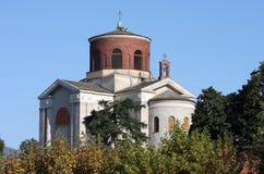 Church of Sant' Ambrogio, Laveno, Italy Royalty Free Stock Image