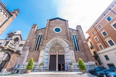Church of Sant Anastasia, Verona, Italy