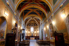 Church of Sant'Andrea in Spello Royalty Free Stock Images