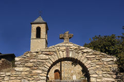 Church of Sant Andreu de Baltarga, Bellver de Cerdanya Stock Images