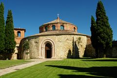 Church of Sant' Angelo in Perugia Stock Photography