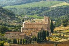Sant'Antimo (Tuscany) Stock Image
