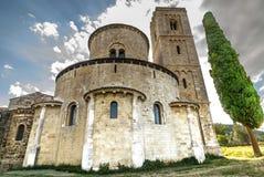 Sant'Antimo (Tuscany) Stock Photography