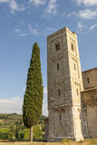 Sant'Antimo (Tuscany) Royalty Free Stock Photo