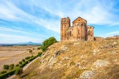 Church Sant Antioco di Bisarcio near Ozieri Royalty Free Stock Photos