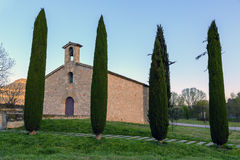 Church of sant antoni de codines centelles Stock Photos