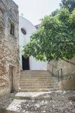 Church of Sant'Antonio Abate. Posada (Sardinia) Royalty Free Stock Images