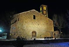 Church of Sant Climent de Taüll Stock Images