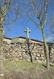 Church of Sant Cugat de Gavadons-Catalonia Royalty Free Stock Image