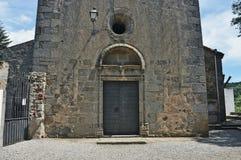 Church of Sant Esteve-Canyamars Royalty Free Stock Photos