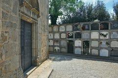Church of Sant Esteve-Canyamars Royalty Free Stock Photography