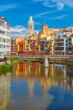 Church of Sant Feliu in Girona, Spain Stock Photography