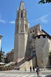 Church of Sant Feliu Royalty Free Stock Images
