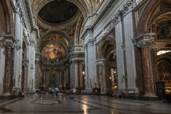 Church of Sant'Ignazio di Loyola in Rome, Italy Stock Photography