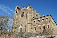 Church of Sant Joan les Fonts Royalty Free Stock Photos