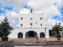 Church of Sant Josep de sa Talaia Stock Image
