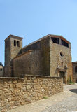 Church of Sant Llorenç de les Arenes, Casavells, Baix Emporda, Royalty Free Stock Images