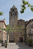 Church of Sant Llorenç Stock Photography