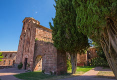 The Church of Sant Martí del Brull Stock Photography
