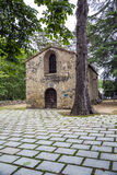 Church of Sant Mart� de Pertegas, XII century in Sant Celoni Royalty Free Stock Photography