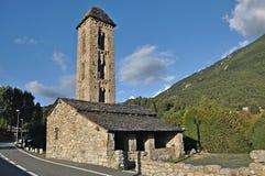 Church of Sant Miquel de Engolasters Royalty Free Stock Images