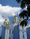 Church Sant-Mixail in Kyiv Royalty Free Stock Images