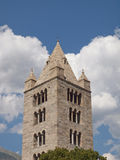 Church of Sant Orso Aosta Stock Photo